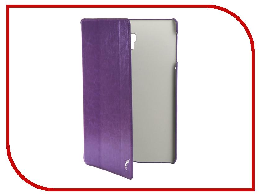 Аксессуар Чехол для Samsung Galaxy Tab A 10.5 SM-T590 / SM-T595 G-Case Slim Premium Purple GG-1008 аксессуар чехол для samsung galaxy tab a 10 5 sm t590 sm t595 g case slim premium dark blue gg 1007