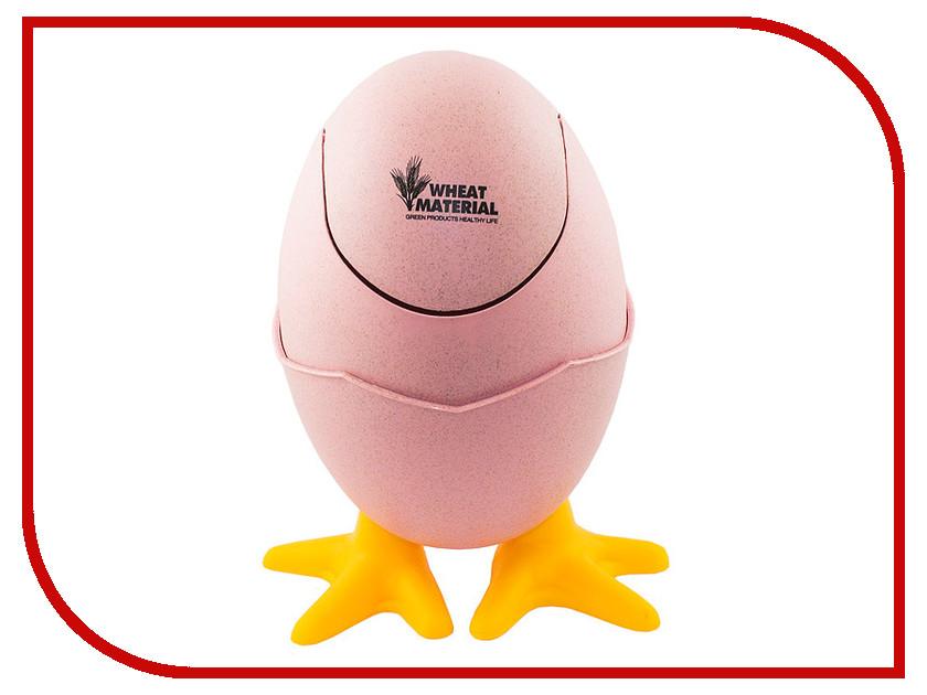 Мусорное ведро Эврика Яйцо Pink 98995