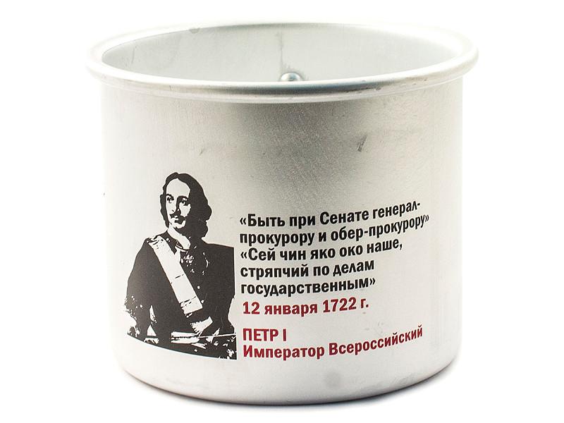 Кружка Эврика Петр 1 Быть при Сенате 97988 отсутствует контракт постановленный в правителствующем сенате