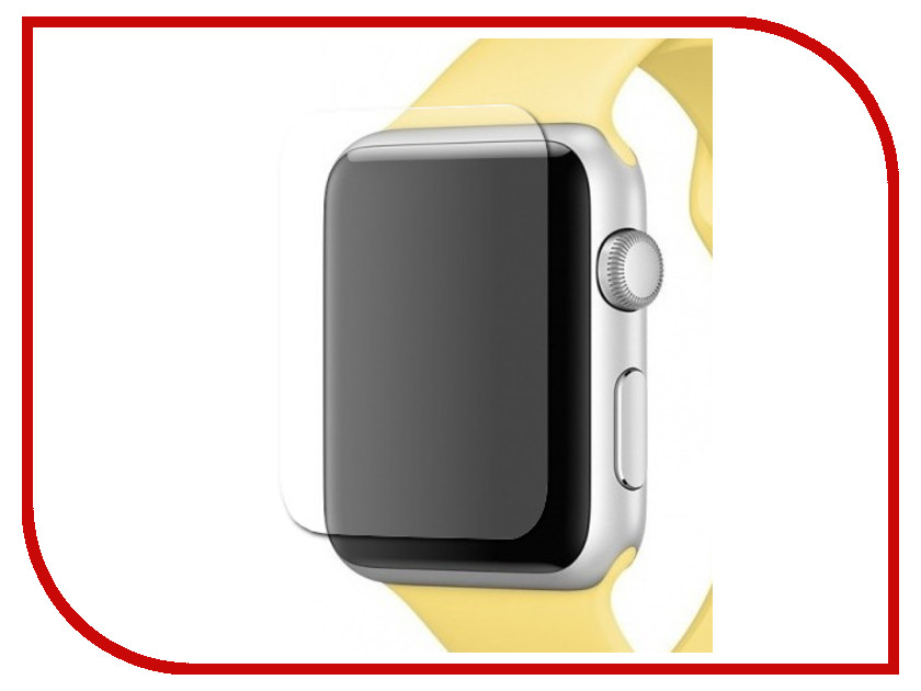 Аксессуар Противоударное стекло Innovation Full Curved для Apple Watch 40mm 14207 аксессуар противоударное стекло для samsung galaxy j8 2018 innovation 2d full glue cover gold 12814