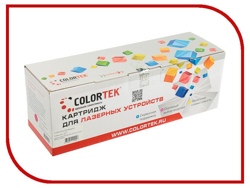 Картридж Colortek CF413A (410A) Magenta для HP LJ Pro M477fdn/M477fdw/M477fnw/M452dn/M452nw/M452dw картридж hp 410a yellow cf412a
