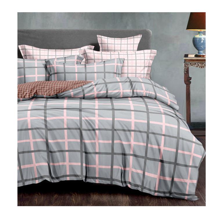 Постельное белье Amore Mio BZ Henry Комплект 1.5 спальный Сатин 7553