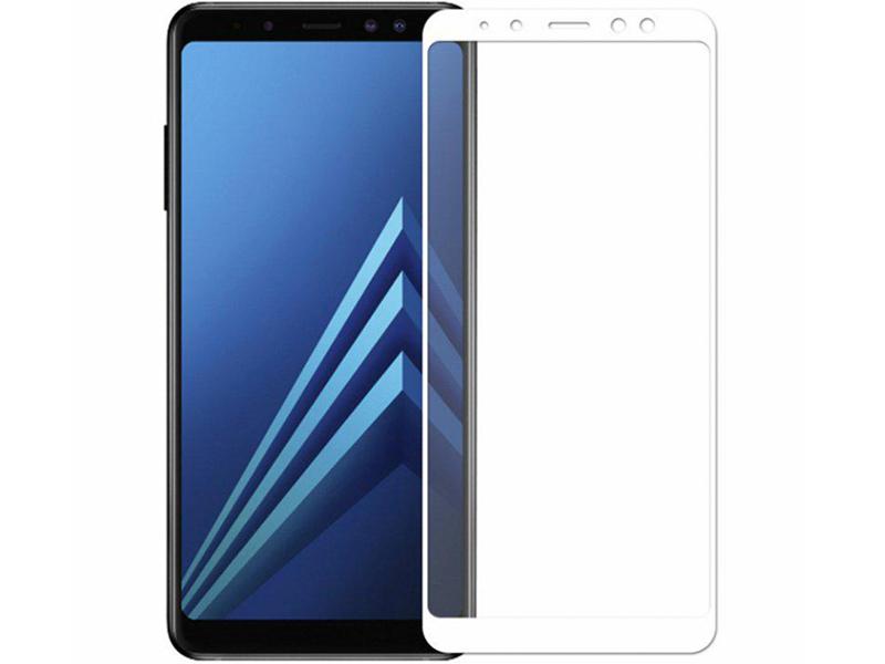 Защитное стекло Innovation для Samsung Galaxy A7 2018 2D Full Glue Cover White 14198