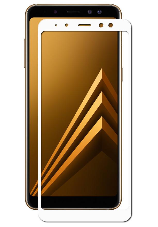 Аксессуар Защитное стекло Innovation для Samsung Galaxy A9 2018 2D Full Glue Cover White 14196