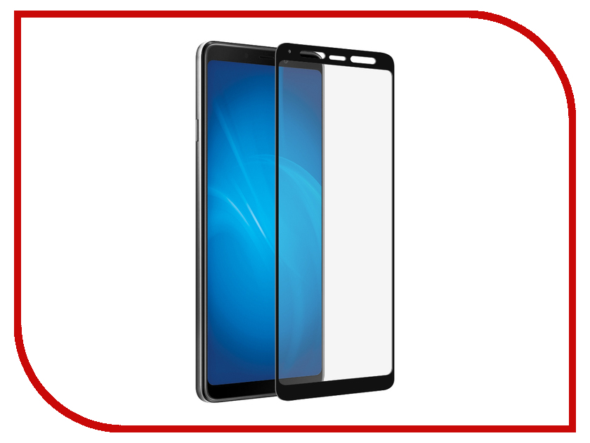 Купить Аксессуар Противоударное стекло для Samsung Galaxy A9 2018 Innovation 2D Full Glue Cover Black 14197