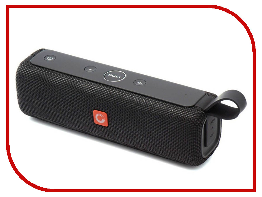 цена Колонка DOSS SoundBox E-Go II Black
