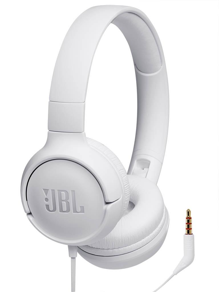 Наушники JBL Tune 500 White наушники jbl tune 110 синие