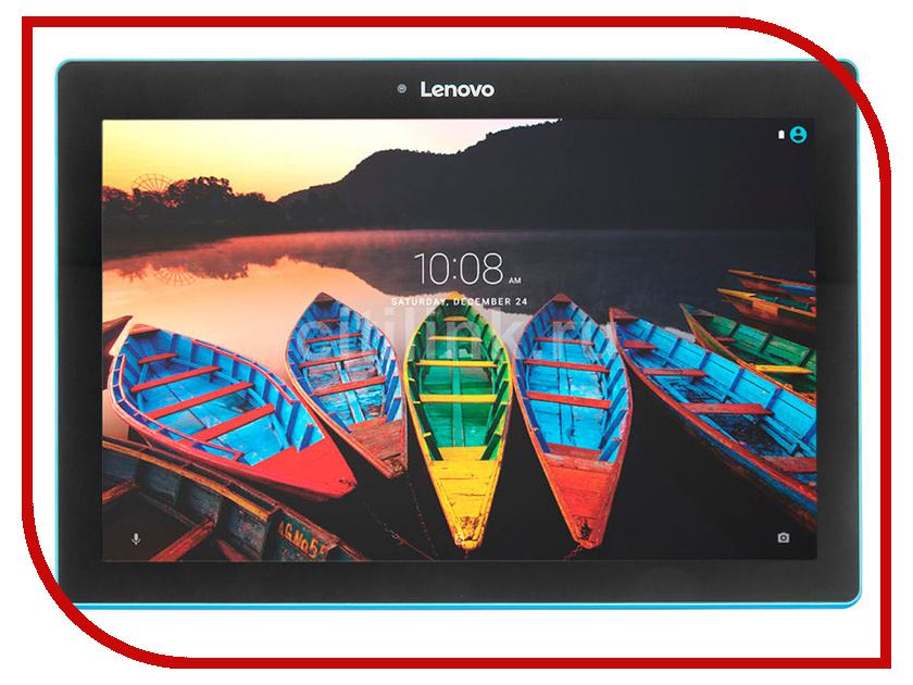 Планшет Lenovo Tab 10 10.1 TB-X103F ZA1U0077RU Black (Snapdragon 210 1.3GHz/1024Mb/16Gb/GPS/LTE/Wi-Fi/Bluetooth/Cam/6.0/1280x800/Android) планшет lenovo tab 4 tb 7304x 7 0 16gb wi fi 4g lte black
