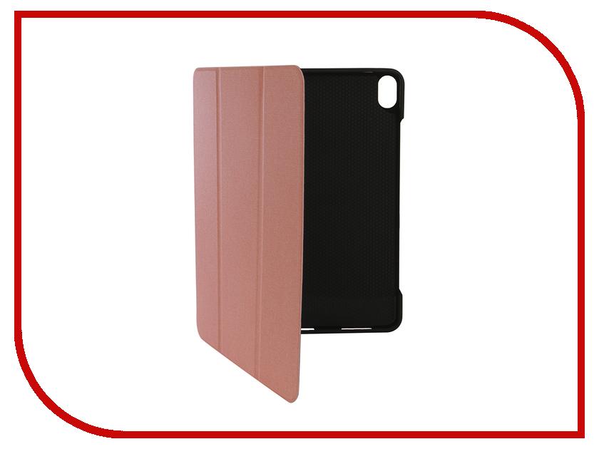 все цены на Аксессуар Чехол Gurdini для APPLE iPad Pro 11 New 2018 Tissue Series Pen Slot Pink 907988