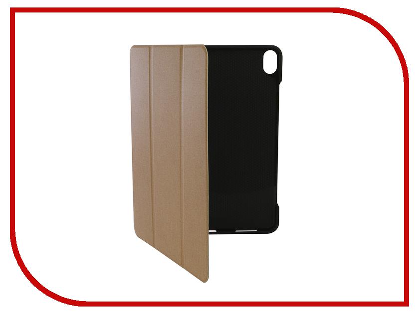 все цены на Аксессуар Чехол Gurdini для APPLE iPad Pro 11 New 2018 Tissue Series Pen Slot Light Brown 907989