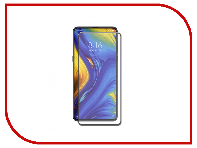 Аксессуар Защитное стекло для Xiaomi Mi Mix 3 Svekla Full Glue Black ZS-SVXIMIMIX3-FGBL аксессуар защитное стекло для xiaomi mi a1 svekla zs svximia1