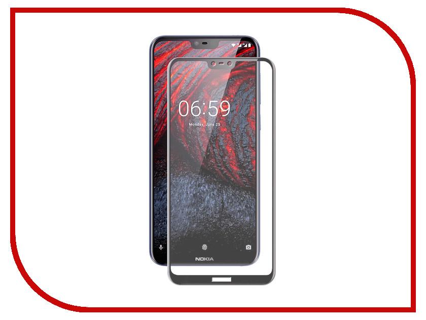 Купить Аксессуар Защитное стекло для Nokia 6.1 Plus Svekla Full Screen Black ZS-SVNO61P-FSBL