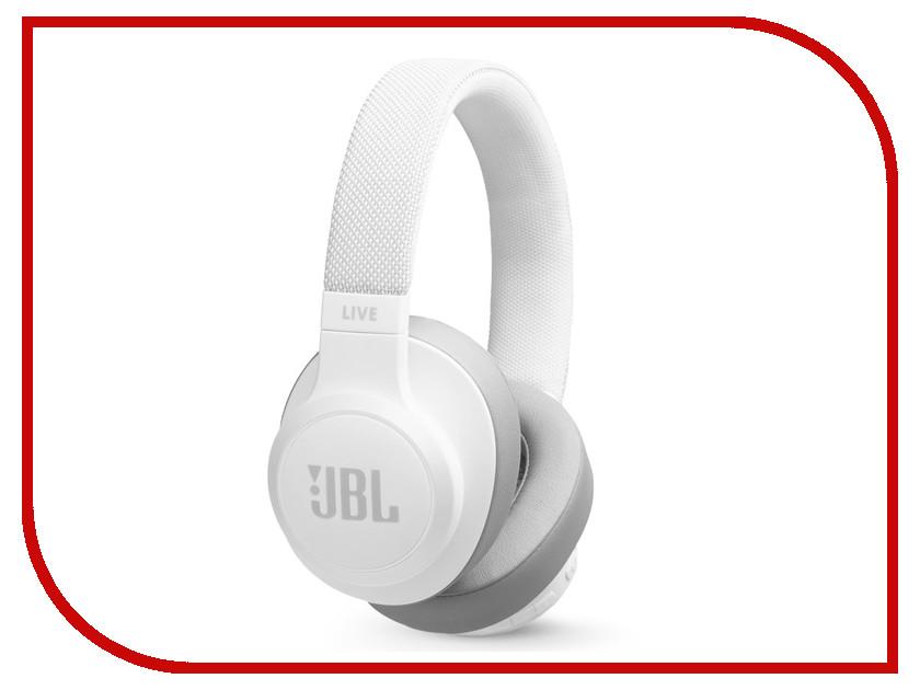 купить JBL Live 500BT White онлайн
