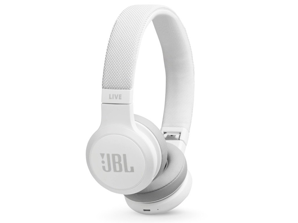 JBL Live 400BT White headphones jbl live 400bt