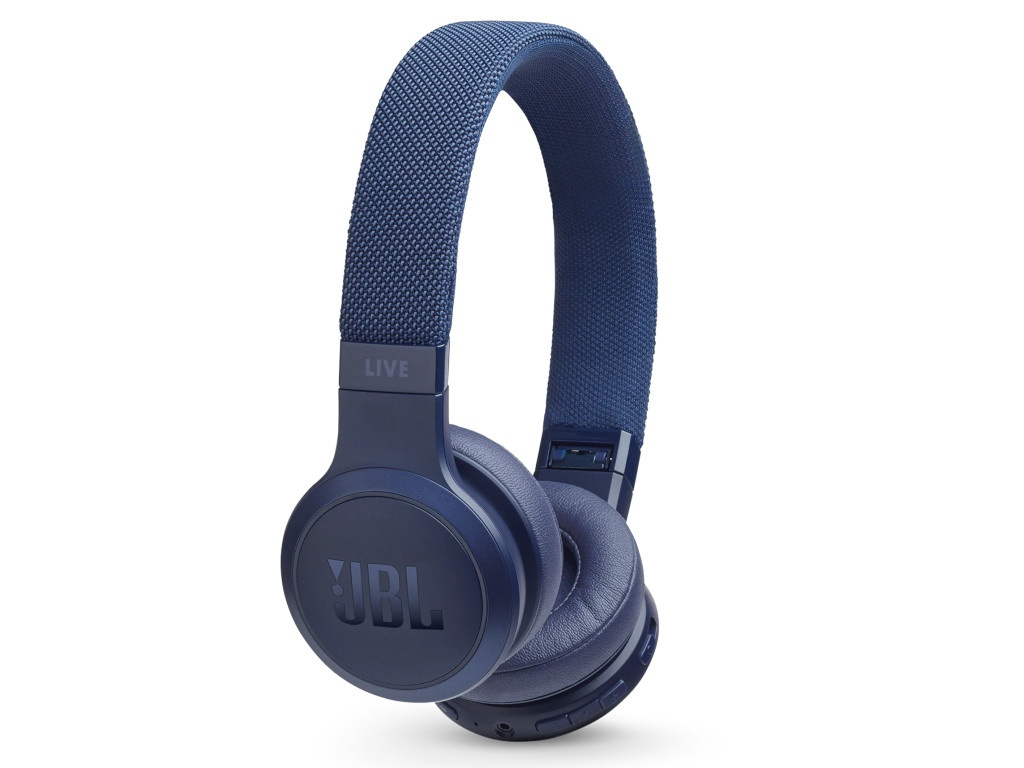 JBL Live 400BT Blue headphones jbl live 400bt