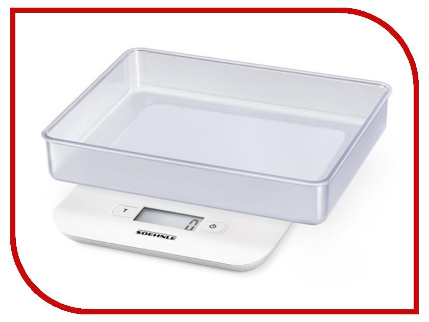 Весы Soehnle Compact White 65122 soehnle весы кухонные fiesta 20х11 5х2 9 см 65106 soehnle