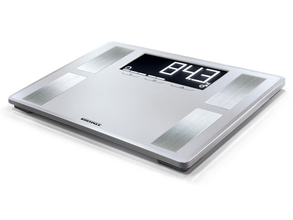 Весы напольные Soehnle Shape Sense Profi 200 Silver 63870 весы soehnle page profi 100 black 61507