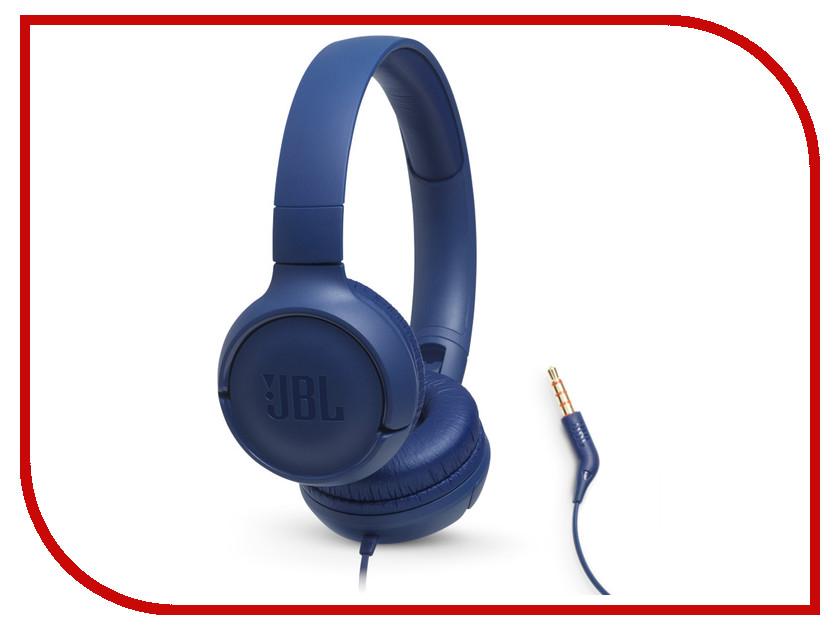 купить JBL Tune 500 Blue онлайн