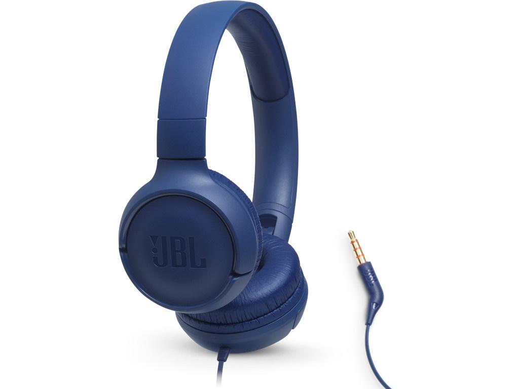 Наушники JBL Tune 500 Blue наушники jbl tune 110 синие