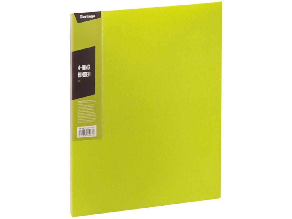 Папка Berlingo Color Zone Light Green 305x235x25mm Abp_43619