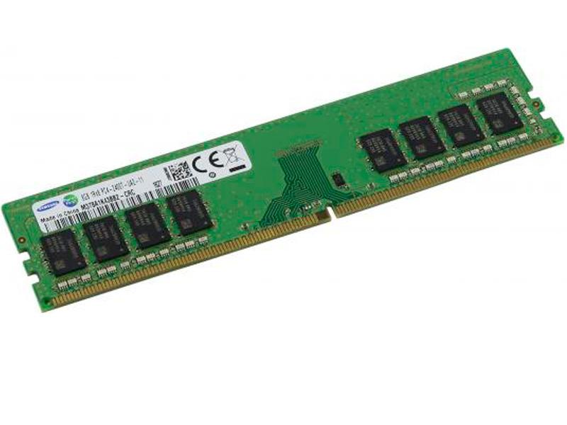 Модуль памяти Samsung DDR4 DIMM 2666MHz PC4-21300 CL19 - 8Gb M378A1G43TB1-CTD цена и фото