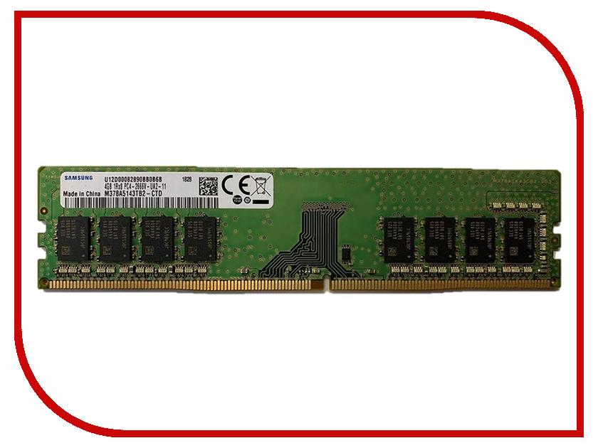 Модуль памяти Samsung DDR4 DIMM 2666MHz PC4-21300 CL19 - 4Gb M378A5143TB2-CTD