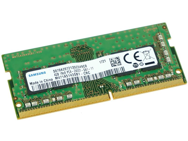 Модуль памяти Samsung DDR4 SO-DIMM 2400MHz PC4-19200 CL17 - 4Gb M471A5143SB1-CRC