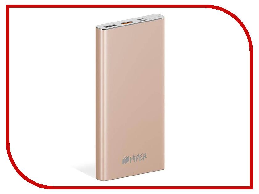 Аккумулятор HIPER MPX10000 10000mAh Gold аккумулятор ttec 2bb130a 10000mah lcd gold tec 8694470729510