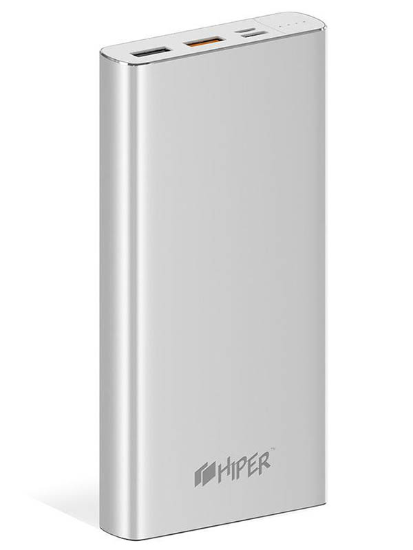 Внешний аккумулятор Hiper Power Bank MPX15000 15000mAh Silver