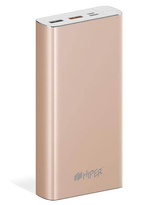 Внешний аккумулятор Hiper Power Bank MPX20000 20000mAh Gold