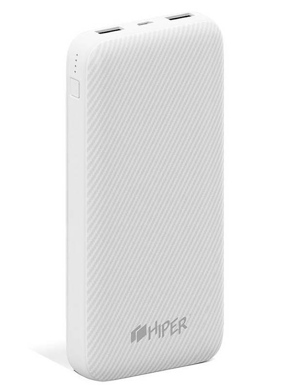 Внешний аккумулятор Hiper Power Bank SPX20000 20000mAh White