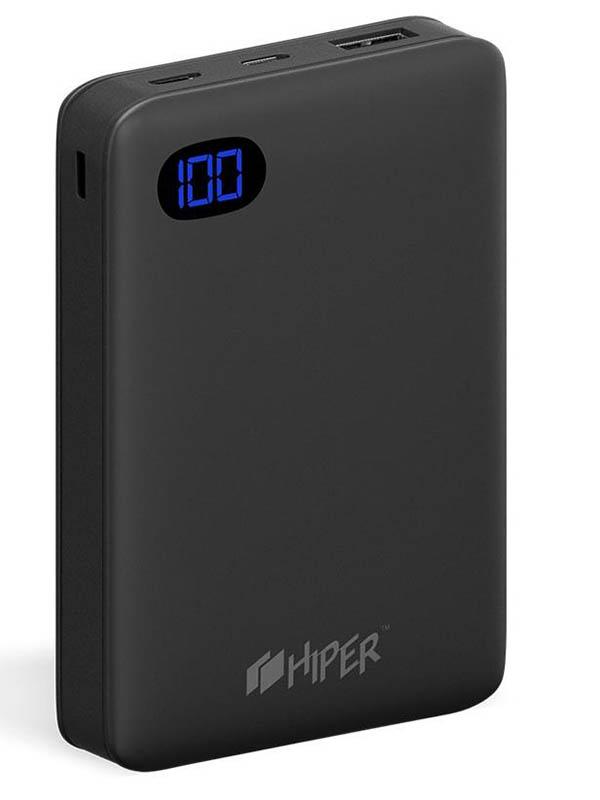 Внешний аккумулятор Hiper Power Bank SN10000 10000mAh Black