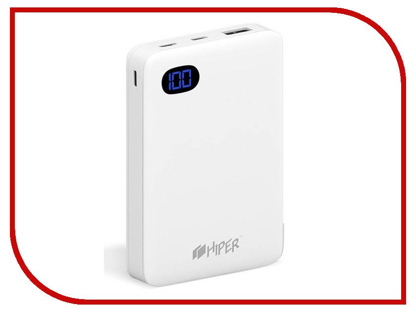 Фото - Аккумулятор Hiper Power Bank SN10000 10000mAh White аккумулятор