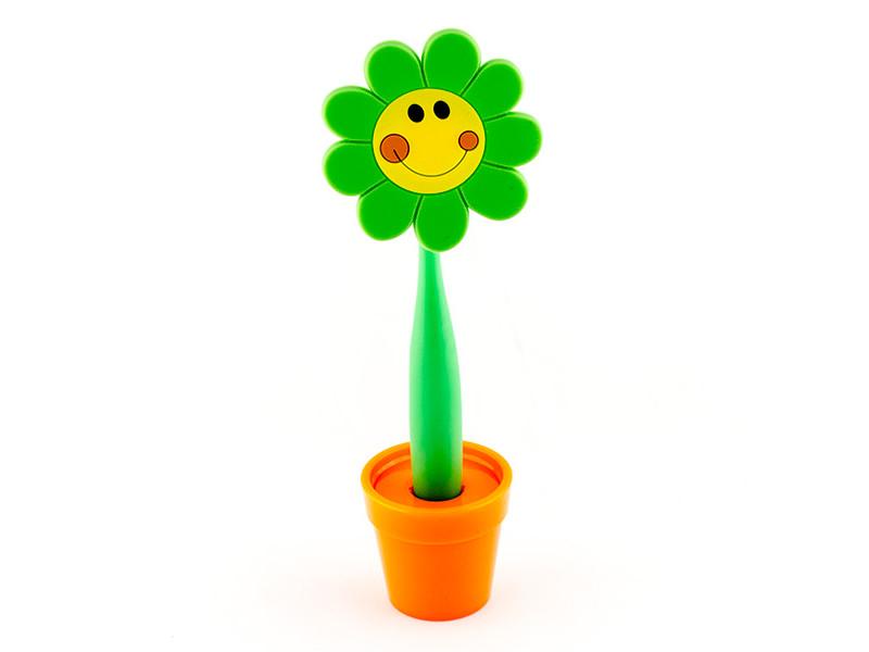 Ручка Эврика Цветок Смайл 96213 ручка эврика крокодил 98977