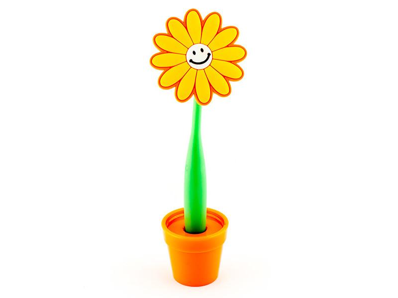 Ручка Эврика Цветок Смайл 96206