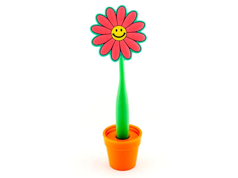 Ручка Эврика Цветок Смайл 96207