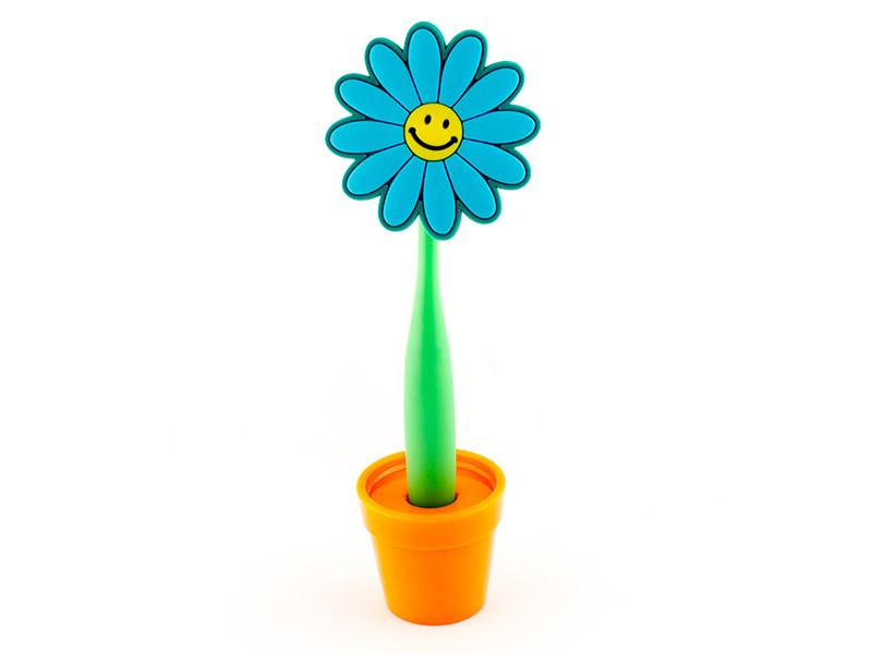 Ручка Эврика Цветок Смайл 96209