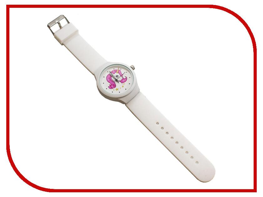 Часы Эврика Единорог White 99237 8fac3aa52e9b6