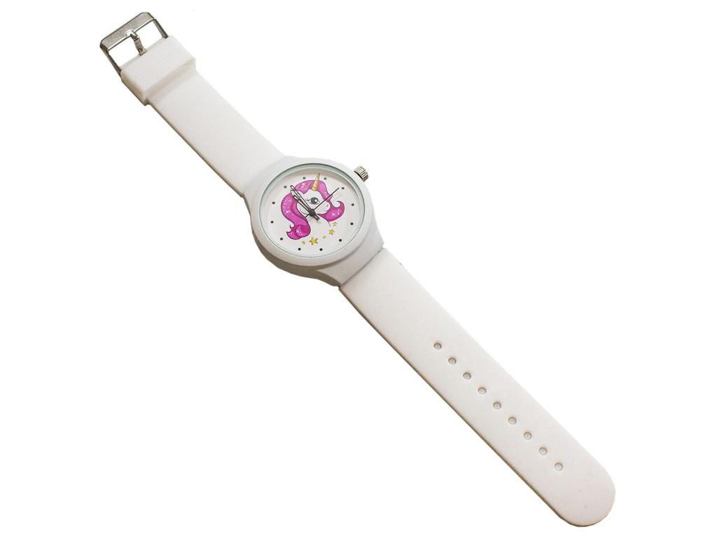 Часы Эврика Единорог White 99237