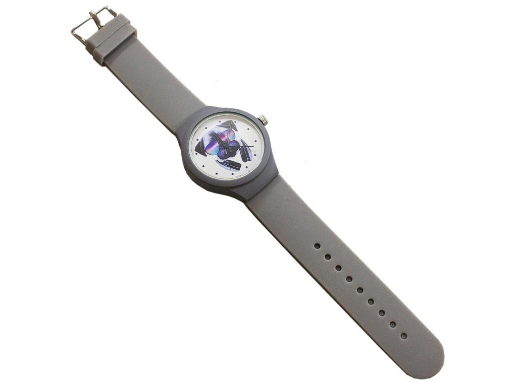 Часы Эврика Мопс с наушниками Grey 99242