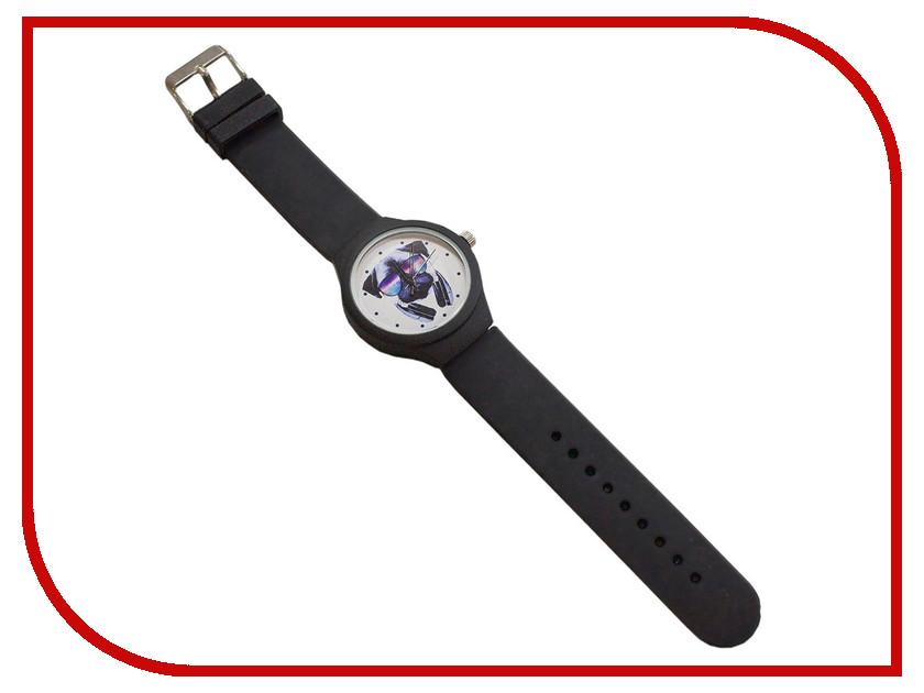 Часы Эврика Мопс  наушниками Black 99243