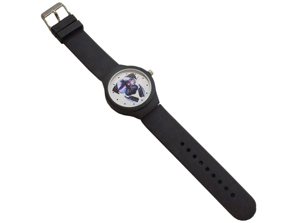 Часы Эврика Мопс с наушниками Black 99243