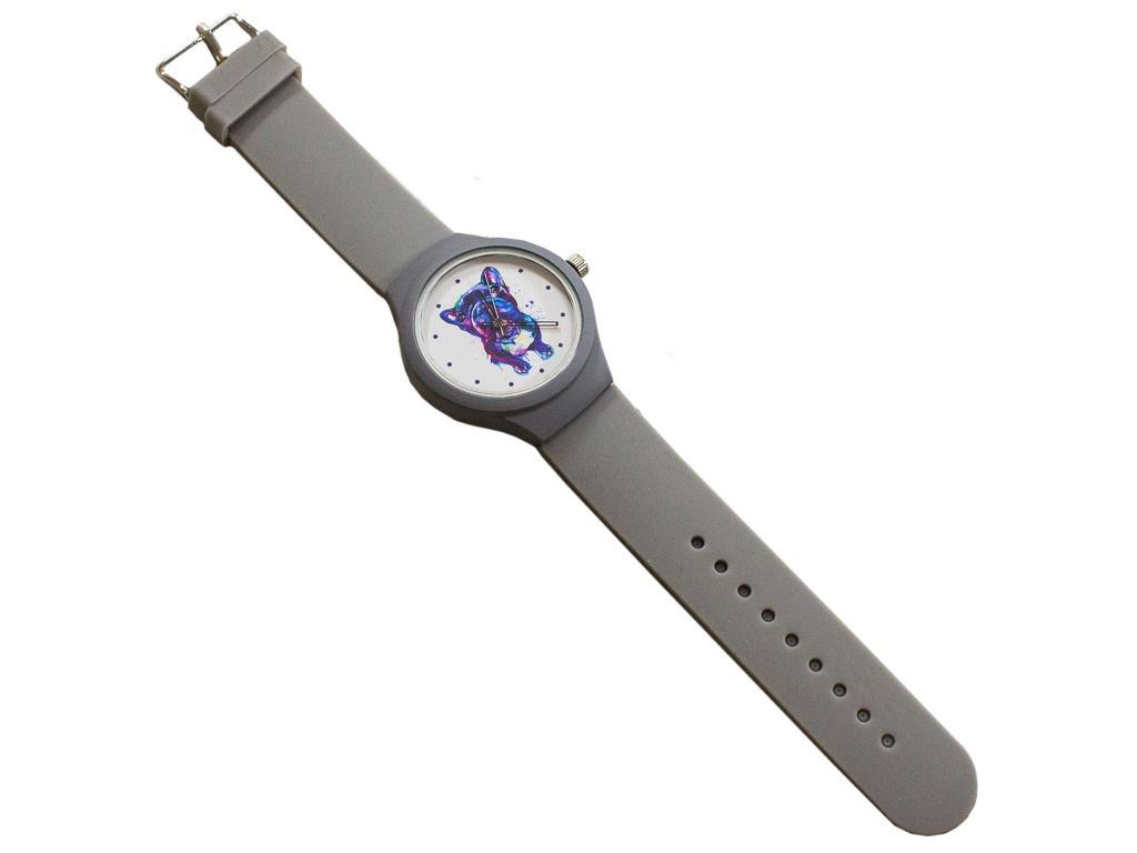 Часы Эврика Мопс Grey 99240 часы эврика 3d арабские black 99680