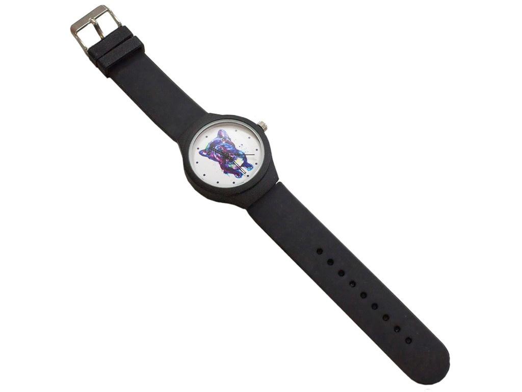 Часы Эврика Мопс Black 99239