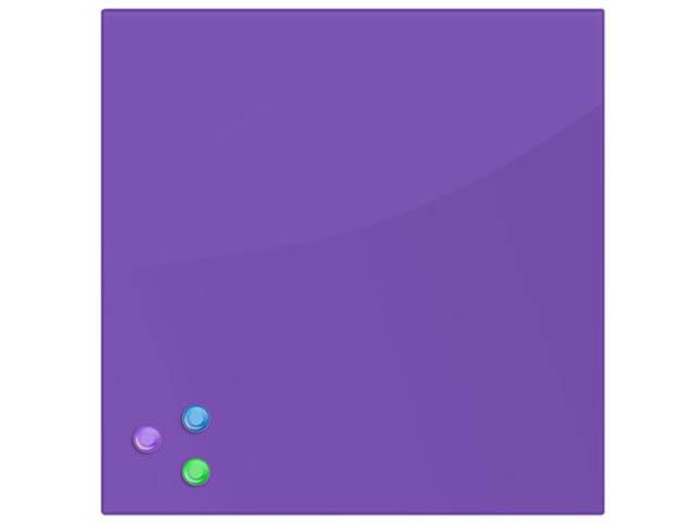 Доска магнитно-маркерная Brauberg 45x45cm Violet 236743