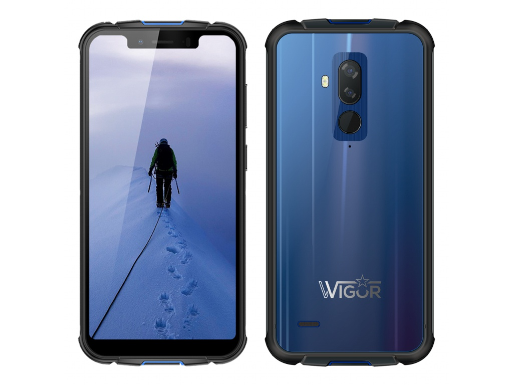 Сотовый телефон Wigor V5 DS Blue телефон