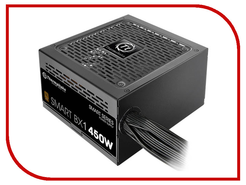 Блок питания Thermaltake PSU TT Smart BX1 80+ Bronze 450W PS-SPD-0450NNSABE-1 блок питания thermaltake psu tt smart bx1 80 bronze 550w ps spd 0550nnsabe 1