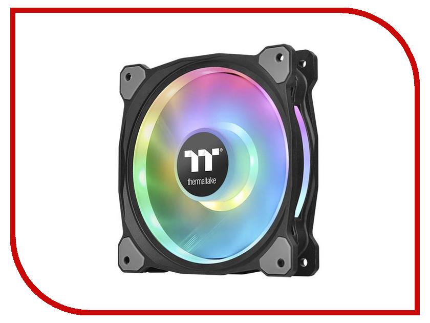 Вентилятор Thermaltake Fan TT Premium Riing Duo 12 RGB PWM 3 Pack CL-F073-PL12SW-A контроллер thermaltake fan f6 rgb ac 024 bn1nan a1