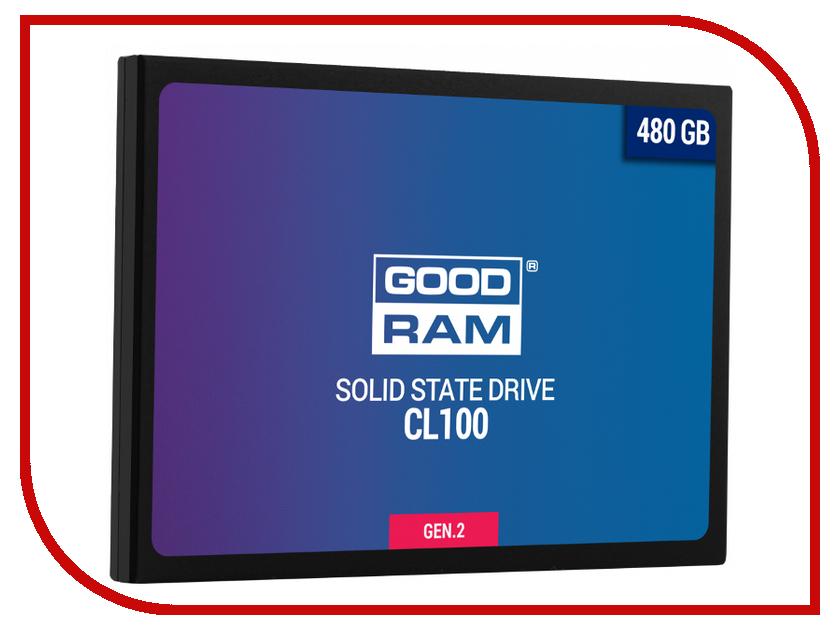 цена на Жесткий диск 480Gb - GoodRAM CL100 Gen.2 SSDPR-CL100-480-G2