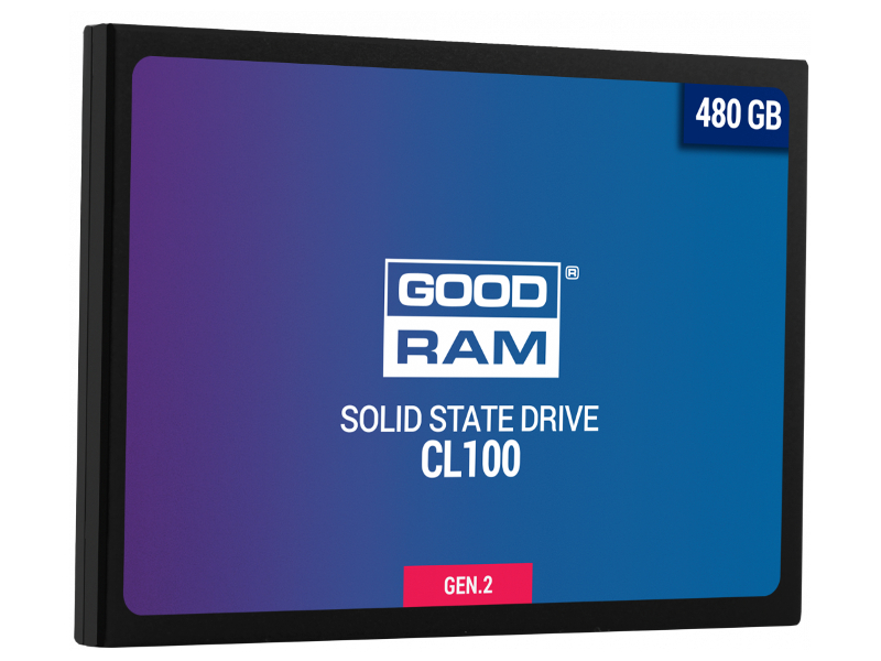 Жесткий диск 480Gb - GoodRAM CL100 Gen.2 SSDPR-CL100-480-G2